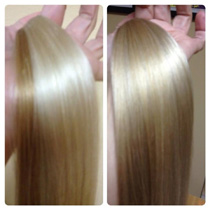 Kim lake hair extensions seattle hair extensions hair salon before and after an example of these colors being blending to produce new color hair extension colors can be blended to exact specifications and is made pmusecretfo Images