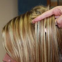 Custom Color Hair Extension Blends
