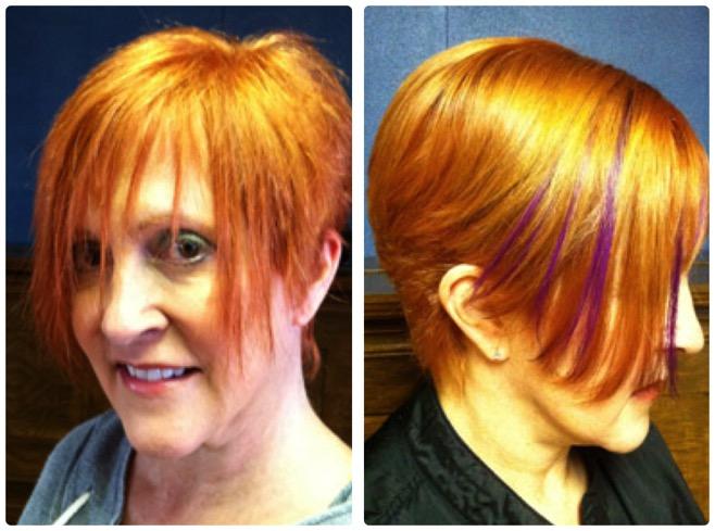 Kim lake hair seattle wa hair extensions custom blends hair creating fringe with hair extensions pmusecretfo Gallery